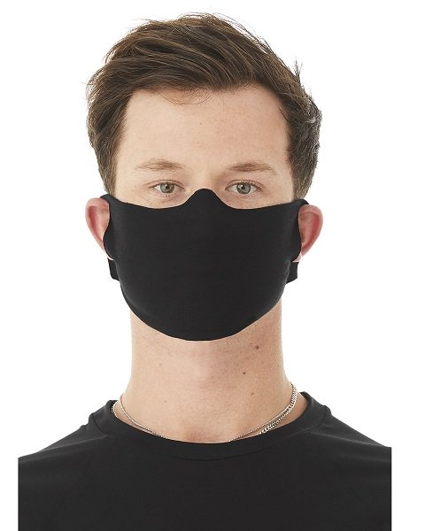 Male wearing an everyday face mask